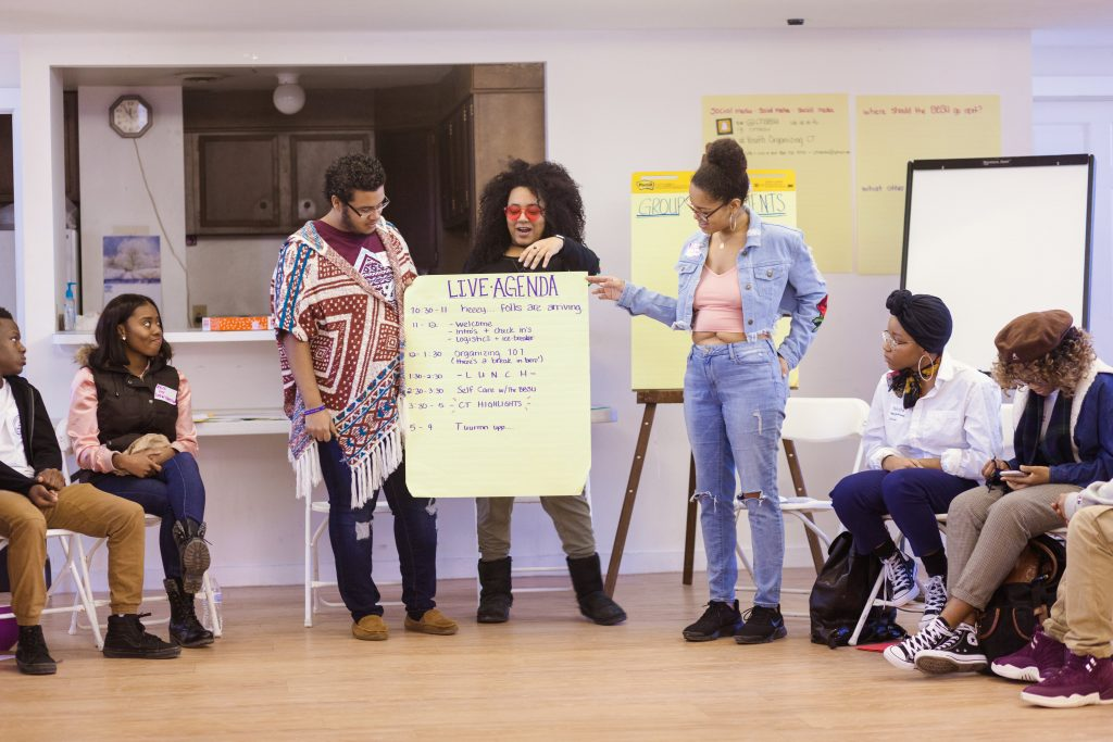 Building a Statewide Youth Organizing Network